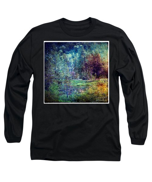 Summertime In Vail Long Sleeve T-Shirt by Madeline Ellis
