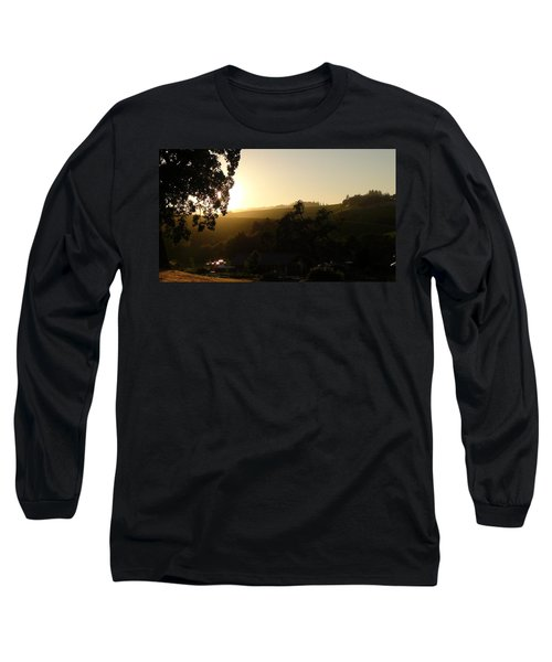 Long Sleeve T-Shirt featuring the photograph Sun Down by Shawn Marlow