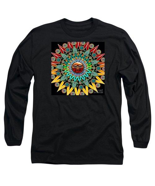 Sun Shaman Long Sleeve T-Shirt by Christopher Beikmann
