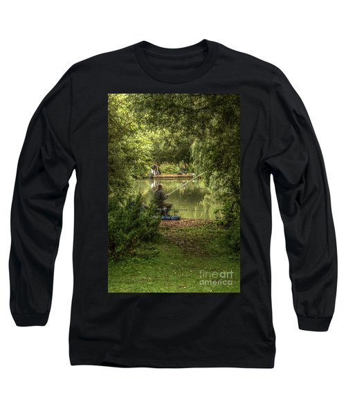 Sunday Fishing At The Lake Long Sleeve T-Shirt