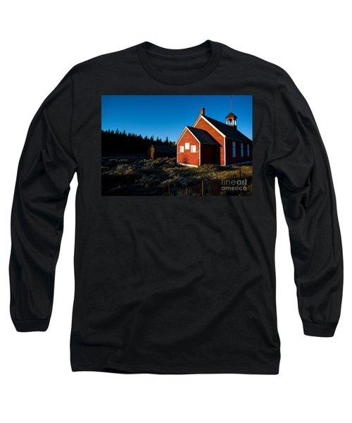 Sunday Morning Coming Down Long Sleeve T-Shirt by Jim Garrison
