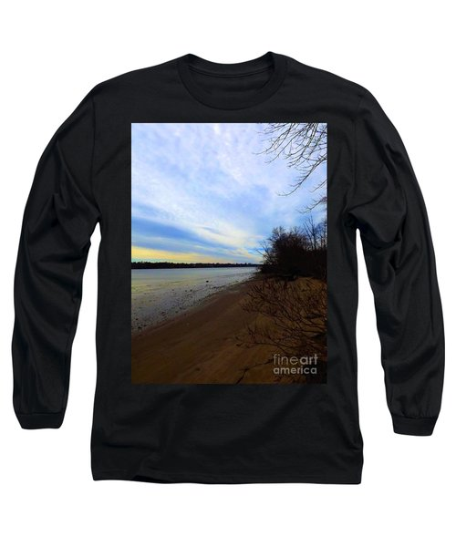 Sundown By The Side Of The River Long Sleeve T-Shirt