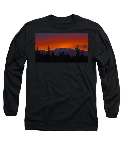 Sundown Long Sleeve T-Shirt by Randy Hall