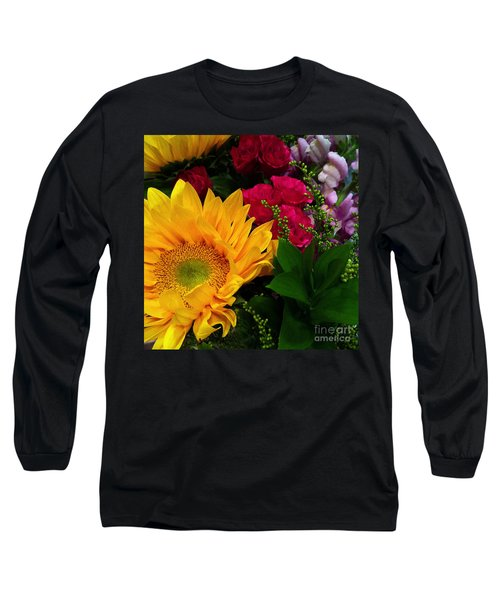 Sunflower Reflections Long Sleeve T-Shirt