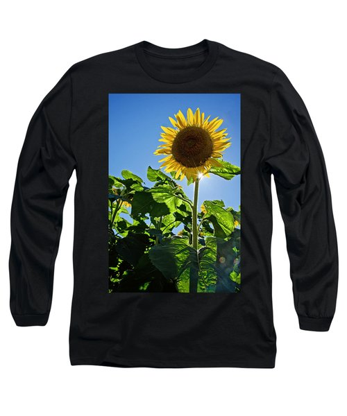 Sunflower With Sun Long Sleeve T-Shirt