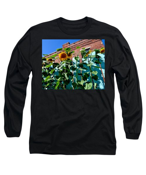 Sunflowers Long Sleeve T-Shirt
