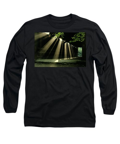 Sunlight Rays Coming Through Roof Long Sleeve T-Shirt