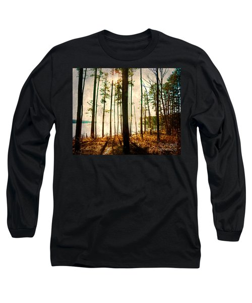 Sunlight Through The Trees Long Sleeve T-Shirt