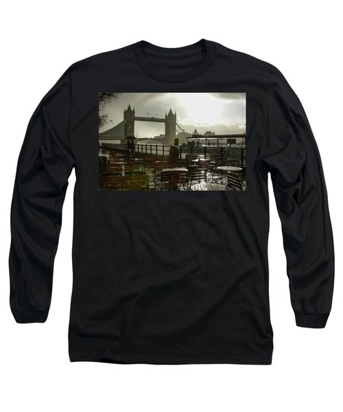 Sunny Rainstorm In London - England Long Sleeve T-Shirt