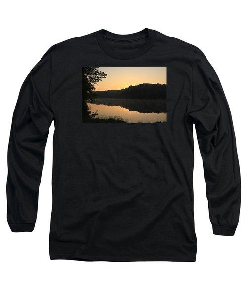 Sunrise At Rose Lake Long Sleeve T-Shirt