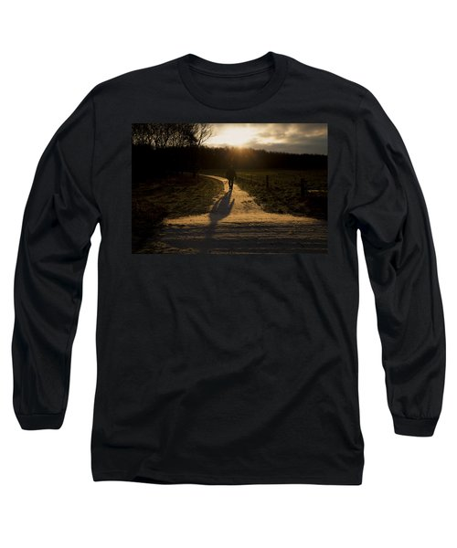 Sunrise Atmosphere Long Sleeve T-Shirt by Mike Santis