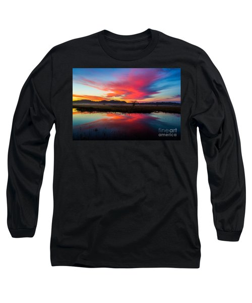 Long Sleeve T-Shirt featuring the photograph Sunrise Glory by Michael Cross