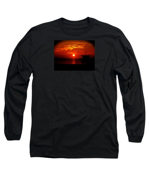 Sunrise In Miami Beach Long Sleeve T-Shirt