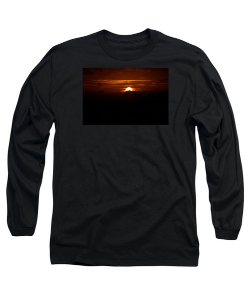 Sunrise In The Clouds Long Sleeve T-Shirt by Lehua Pekelo-Stearns