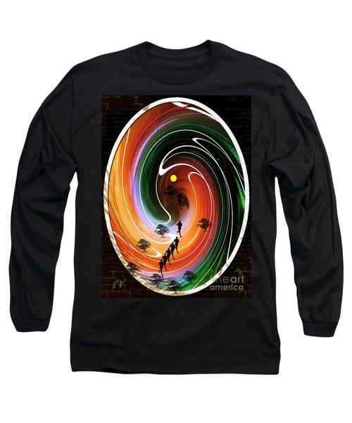 Sunrise Joggers  Long Sleeve T-Shirt
