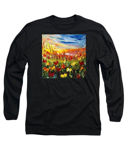 Sunrise Meadow   Long Sleeve T-Shirt