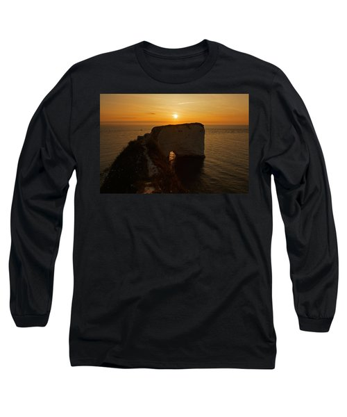 Sunrise Old Harry Rocks Long Sleeve T-Shirt