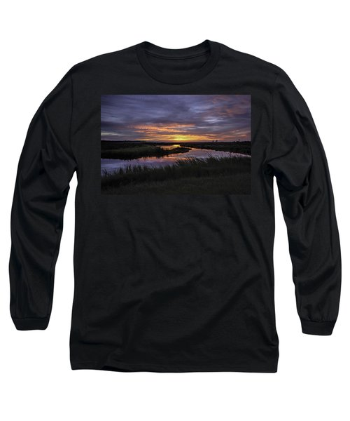 Sunrise On Lake Shelby Long Sleeve T-Shirt