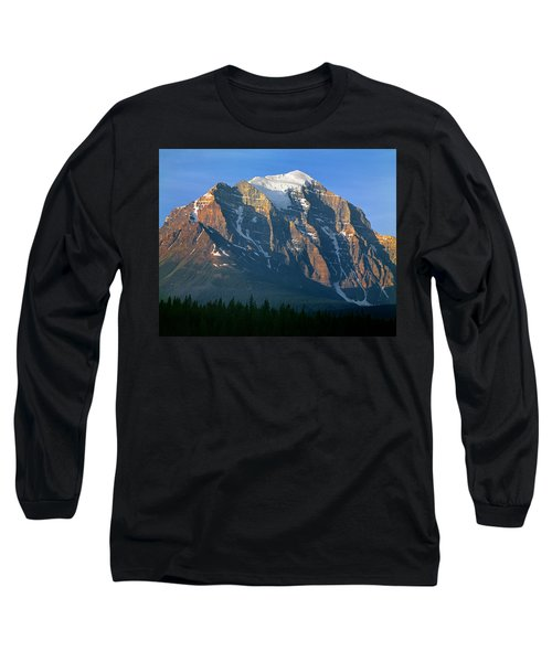 1m3518-sunrise On Mt. Temple Long Sleeve T-Shirt