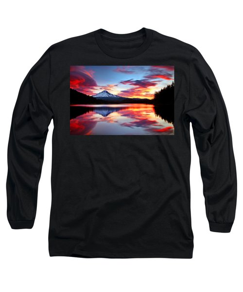Sunrise On The Lake Long Sleeve T-Shirt