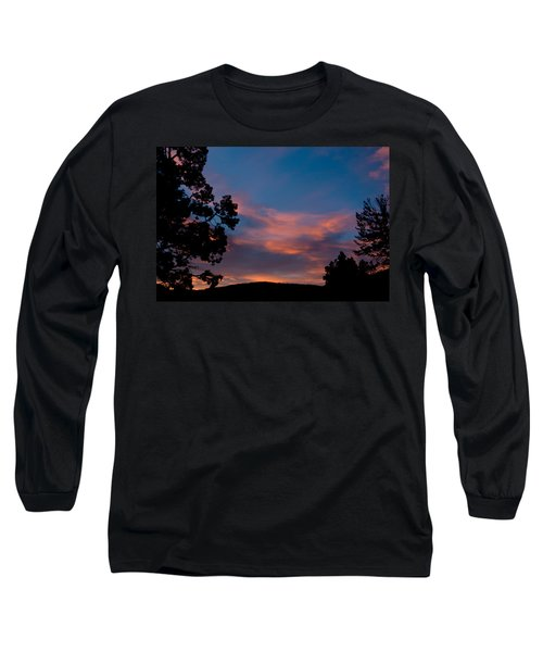 Sunrise Over Mammoth Campground Long Sleeve T-Shirt