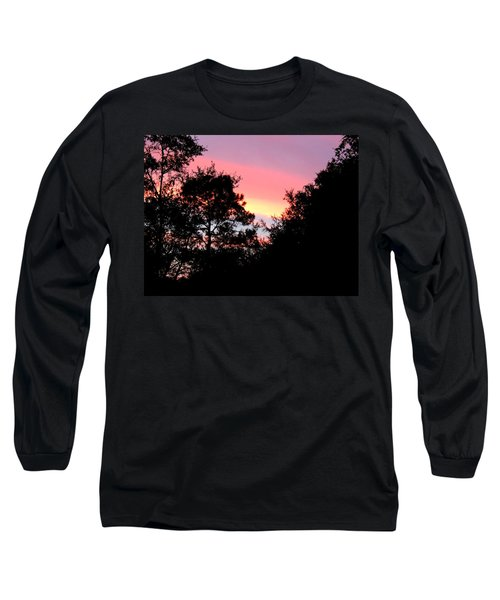 Sunrise Over Perry Long Sleeve T-Shirt