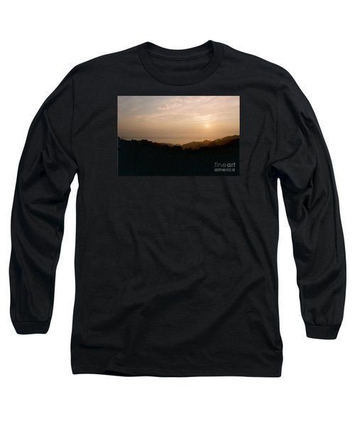 Sunrise Over The Illinois River Valley Long Sleeve T-Shirt