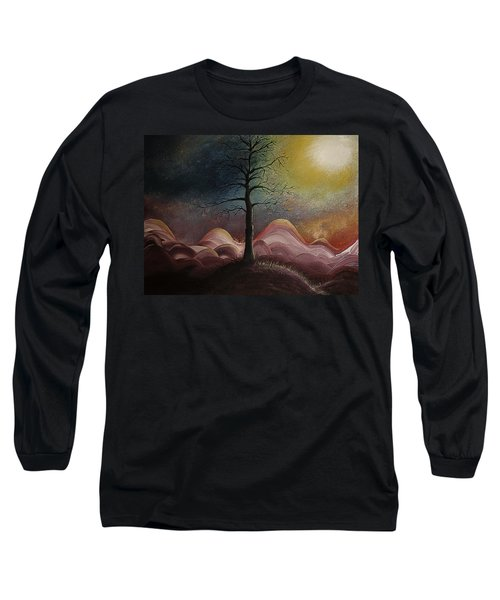 Sunrise Over The Mountains Long Sleeve T-Shirt