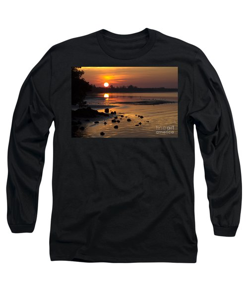 Long Sleeve T-Shirt featuring the photograph Sunrise Photograph by Meg Rousher