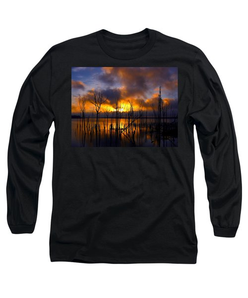 Sunrise Long Sleeve T-Shirt by Raymond Salani III