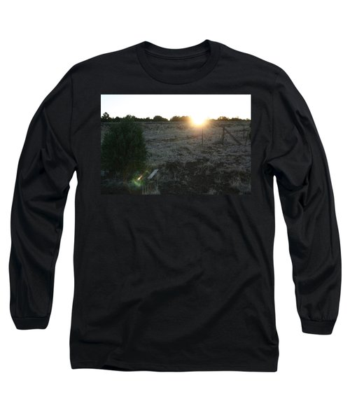 Long Sleeve T-Shirt featuring the photograph Sunrize by David S Reynolds