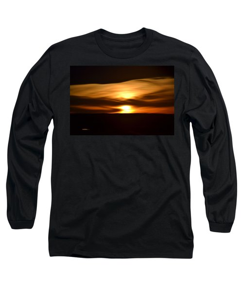 Sunset Abstract I Long Sleeve T-Shirt