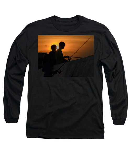 Sunset Anglers Long Sleeve T-Shirt