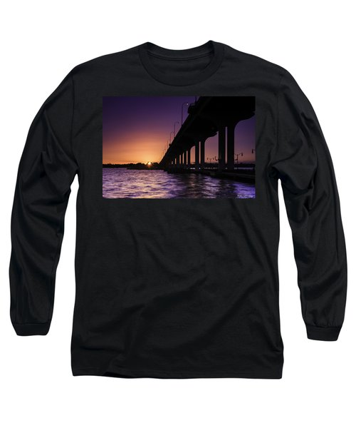 Sunset At Jensen Beach Long Sleeve T-Shirt