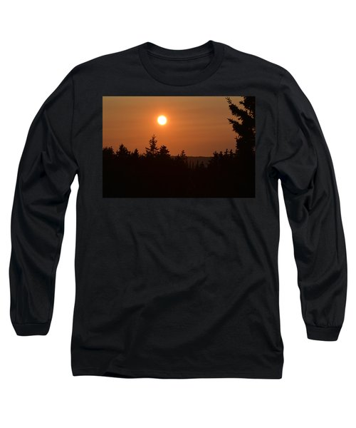 Sunset At Owl's Head Long Sleeve T-Shirt
