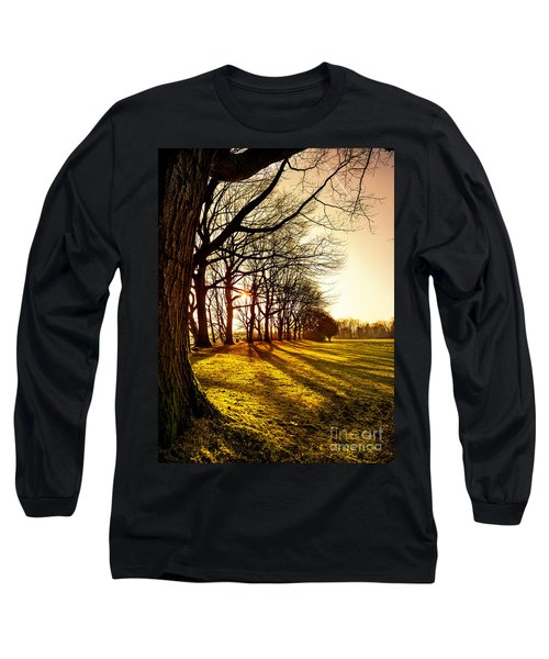 Sunset At The Park Long Sleeve T-Shirt