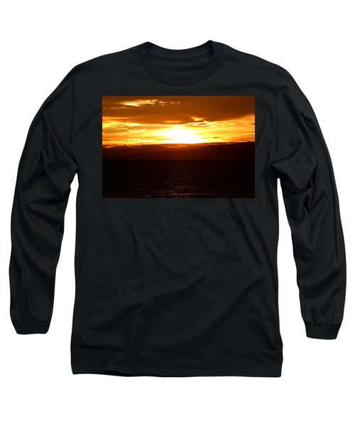Sunset By The Fjord Long Sleeve T-Shirt