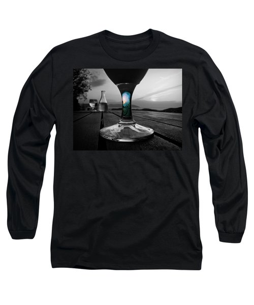Sunset Cafe Long Sleeve T-Shirt
