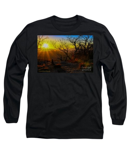 Sunset From Blood Mountain Long Sleeve T-Shirt