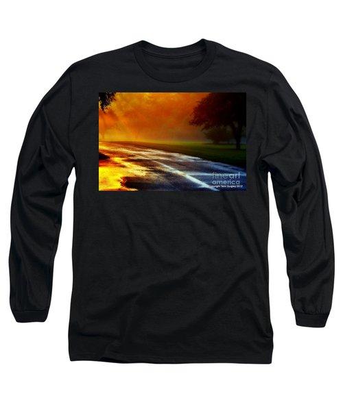 Sunset Glint In The Mist Long Sleeve T-Shirt