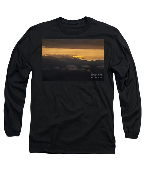 Long Sleeve T-Shirt featuring the photograph Sunset by Gunnar Orn Arnason
