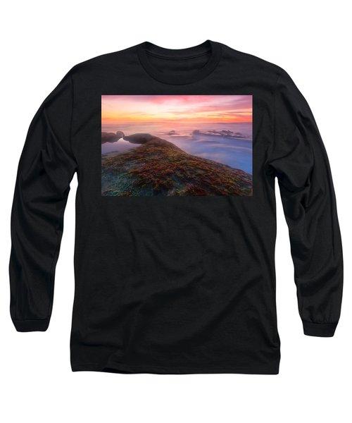Sunset In La Jolla Long Sleeve T-Shirt