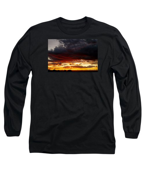 Sunset In Red Long Sleeve T-Shirt