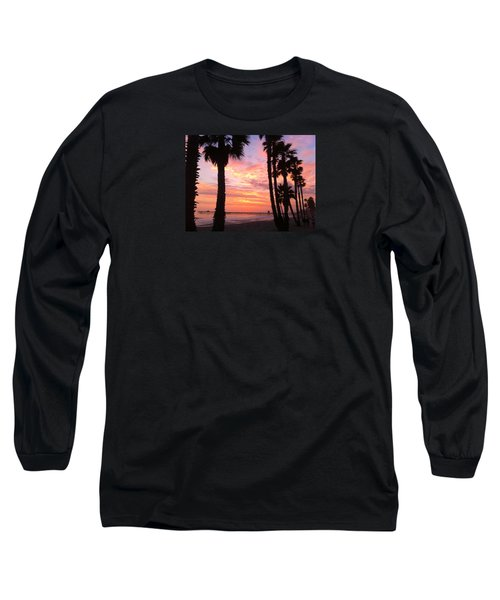 Sunset In San Clemente Long Sleeve T-Shirt