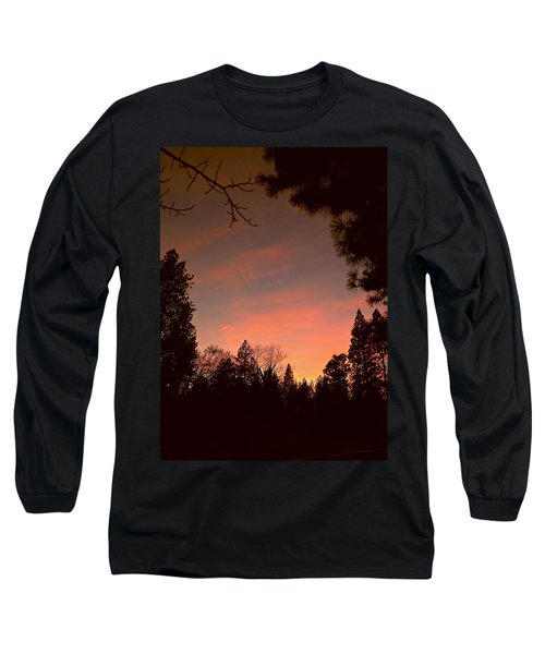 Sunset In Winter Long Sleeve T-Shirt