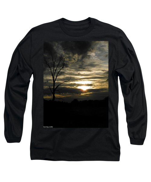 Sunset Of Life Long Sleeve T-Shirt by Nick Kirby