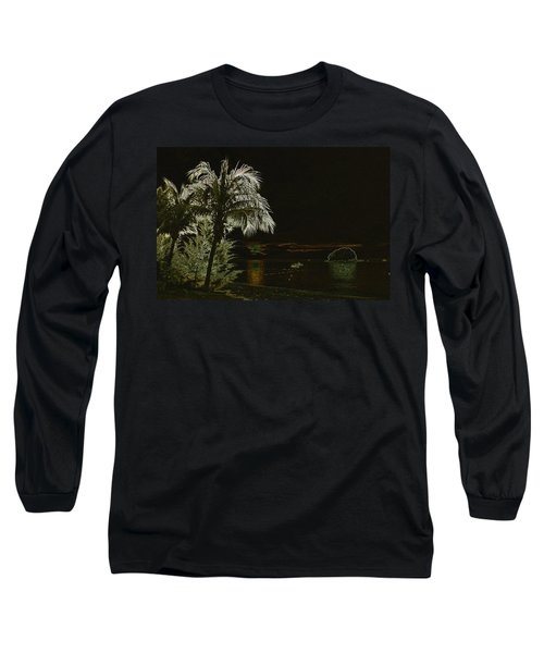 Long Sleeve T-Shirt featuring the photograph Sunset On Tioman Island by Sergey Lukashin