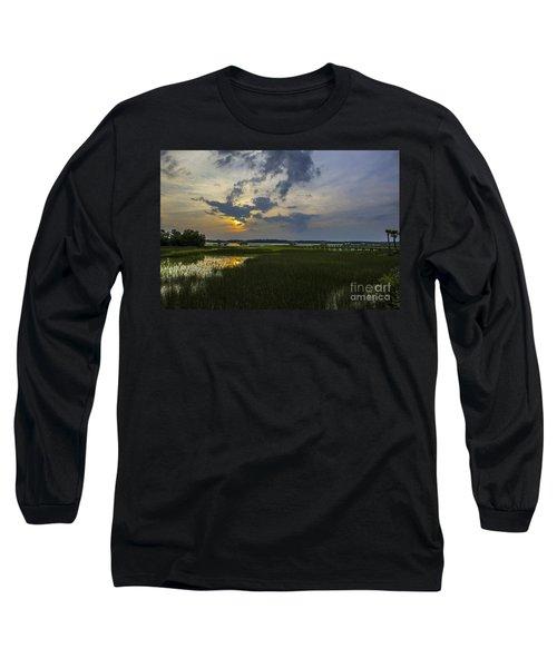 Sunset Over The Wando Long Sleeve T-Shirt