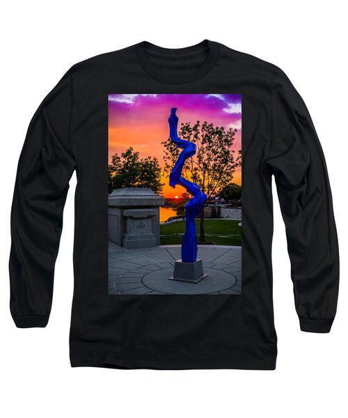 Sunset Sculpture Long Sleeve T-Shirt