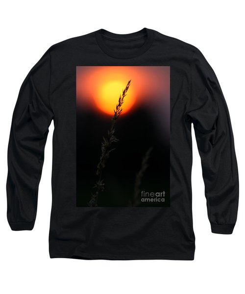 Sunset Seed Silhouette Long Sleeve T-Shirt